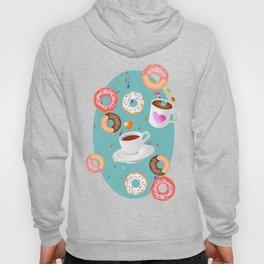 Coffee and Doughnuts Hoody