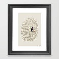 Zen Touch Framed Art Print