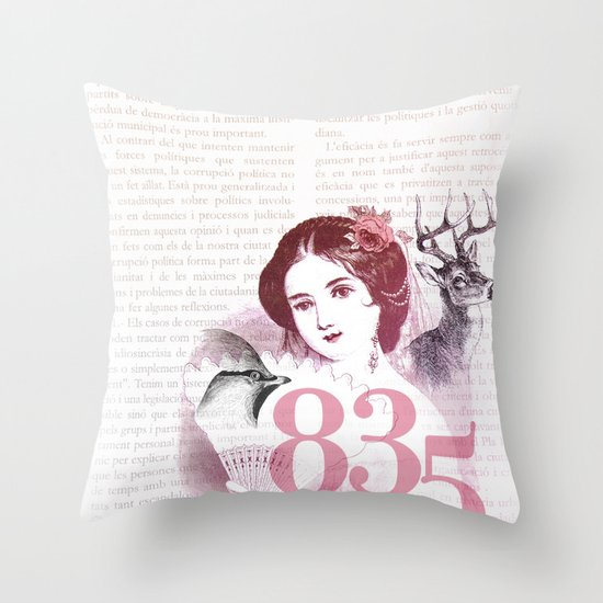 Pretty Moment Throw Pillow