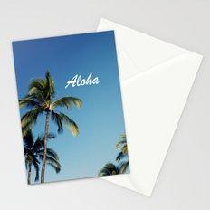Aloha Palm Trees Stationery Cards