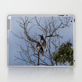 A couple of oriental pied hornbills Laptop & iPad Skin