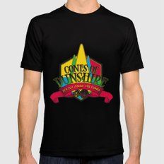 Cones of Dunshire Mens Fitted Tee X-LARGE Black