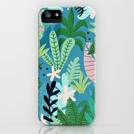 Into the jungle - twilight iPhone Case