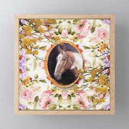 Paint Horse Framed Mini Art Print