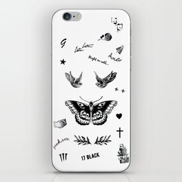 Harry's Tattoos Two iPhone Skin