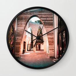 Artsy Hallway Wall Clock