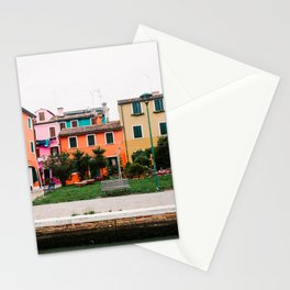 Color house   Italy   Venice   travel photography Stationery Cards