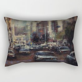 Life's Just a Cocktail Party on the Street Rectangular Pillow
