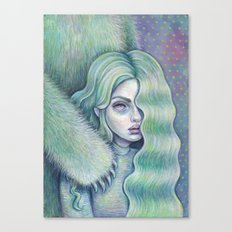 We May All Have A Monster Inside Canvas Print