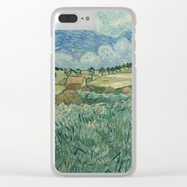 Plain at Auvers with rain clouds Clear iPhone Case