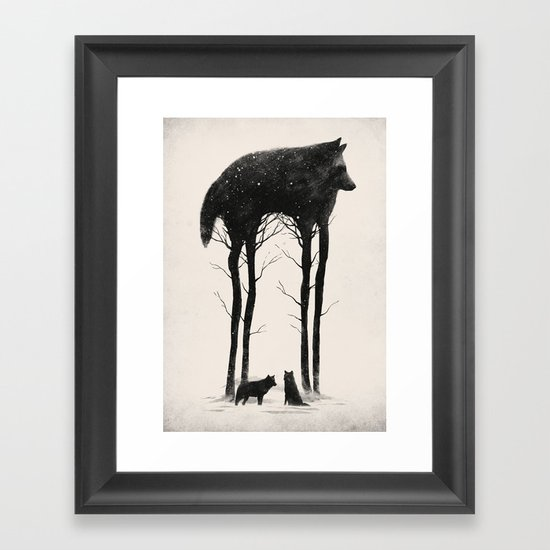 Standing Tall Framed Art Print