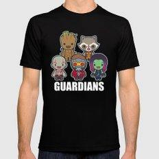 The Guardians MEDIUM Mens Fitted Tee Black