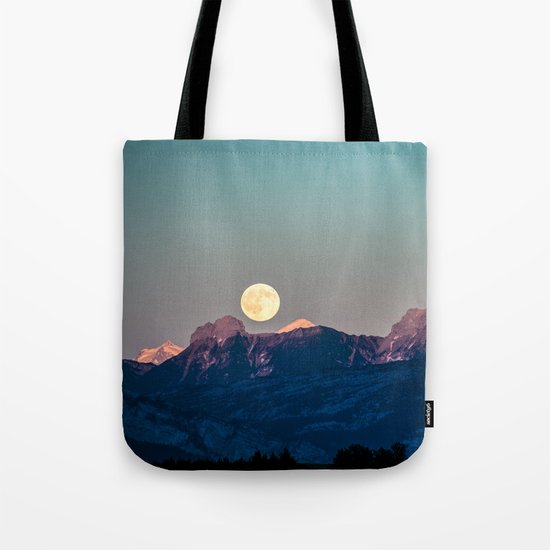 The Rising Moon Tote Bag
