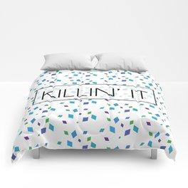 Killin' It Confetti Comforters