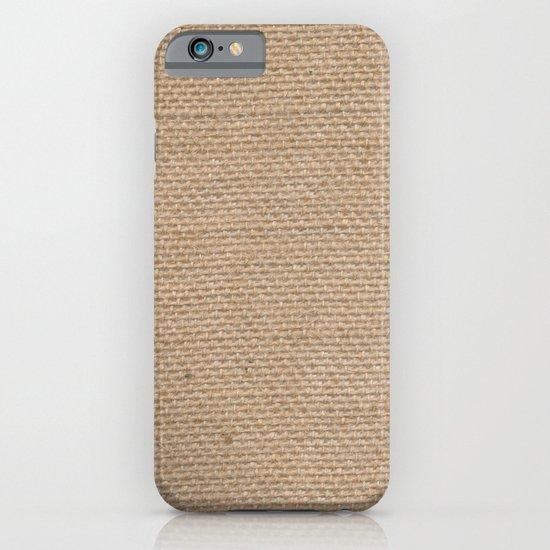 BURLAP iPhone & iPod Case