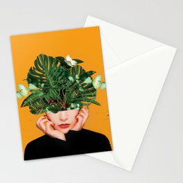 Lady Flowers || Stationery Cards