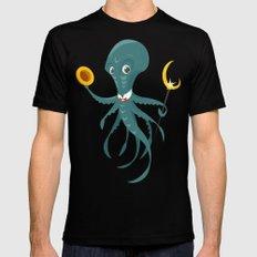 Mr Octopus Mens Fitted Tee Black MEDIUM