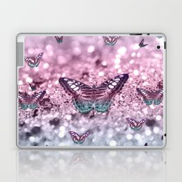 Pastel Unicorn Butterfly Glitter Dream #2 #shiny #decor #art #society6 Laptop & iPad Skin
