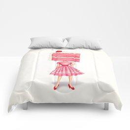 Cake Head Pin-Up - Cherry Comforters