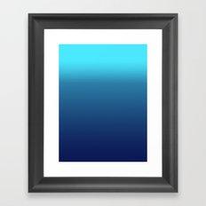 Lets Swim in the Ocean Framed Art Print