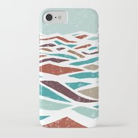 beach iPhone & iPod Cases featuring Sea Recollection by Efi Tolia