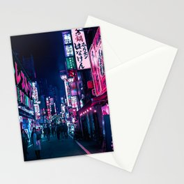 Nocturnal Alley Stationery Cards