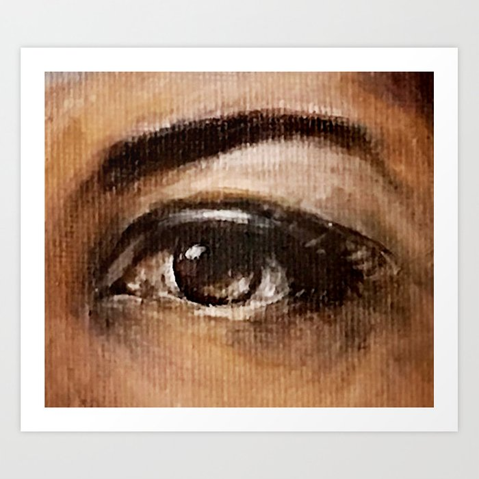 Eye Study #3 Art Print
