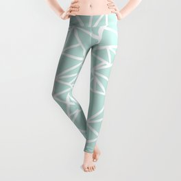 Ab Outline Thick Mint Leggings