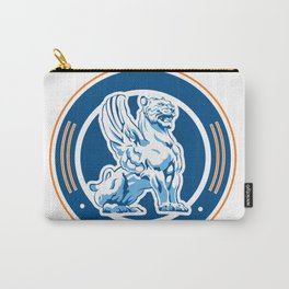 tiger wings emblem Carry-All Pouch