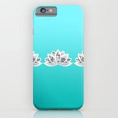 blue lotus Slim Case iPhone 6