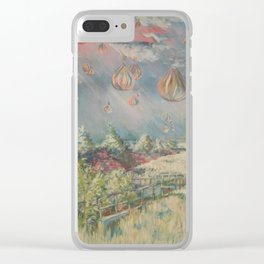 Odd Weather Clear iPhone Case