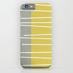 MId century modern textured stripes Slim Case iPhone 6s