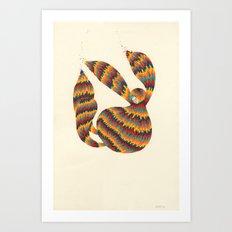 A Trifle High Art Print