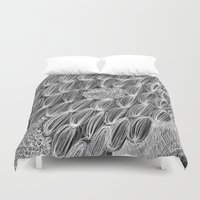 wild things Duvet Covers featuring Wild Things by Georgiana Paraschiv
