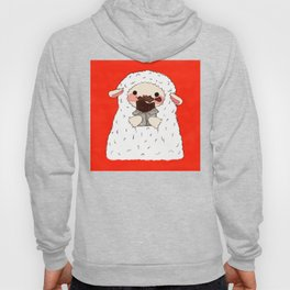 Chocolate Lamb Hoody