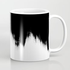 Black And White Abstract Art Mug