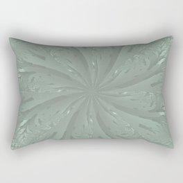 Lost in the Laurels Fractal Bloom Rectangular Pillow