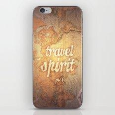 Travel Spirit #4 iPhone & iPod Skin
