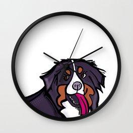 Bernese Mountain Dog Fever Wall Clock