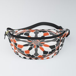 Geometric celtic cross Fanny Pack