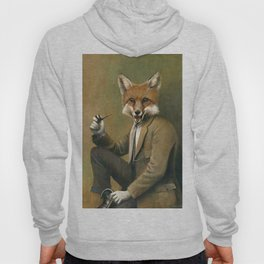 Vintage Fox In Suit Hoody