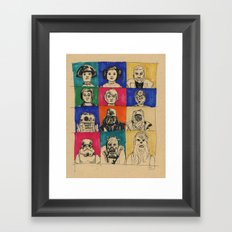 The Original Twelve Framed Art Print