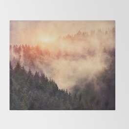 In My Other World Throw Blanket