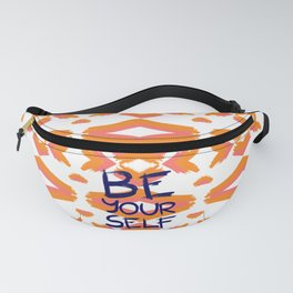 Be Yourself #society6 #motivational Fanny Pack