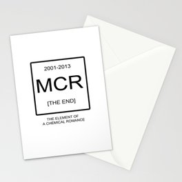 My Chemical Romace Element Stationery Cards