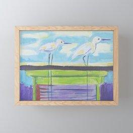 #Sharky's Framed Mini Art Print