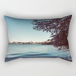 April in DC Rectangular Pillow