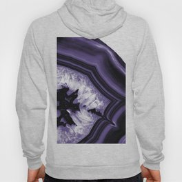Ultra Violet Agate Chic #1 #gem #decor #art #society6 Hoody
