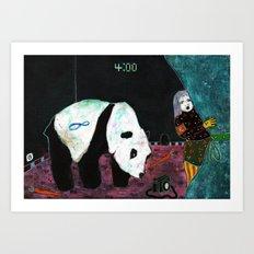 4h00 Art Print