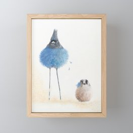 Is it really? Framed Mini Art Print